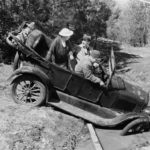 The first car accident